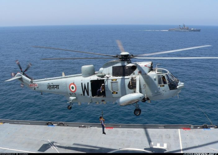 helicopter aircraft attack military navy India wallpaper