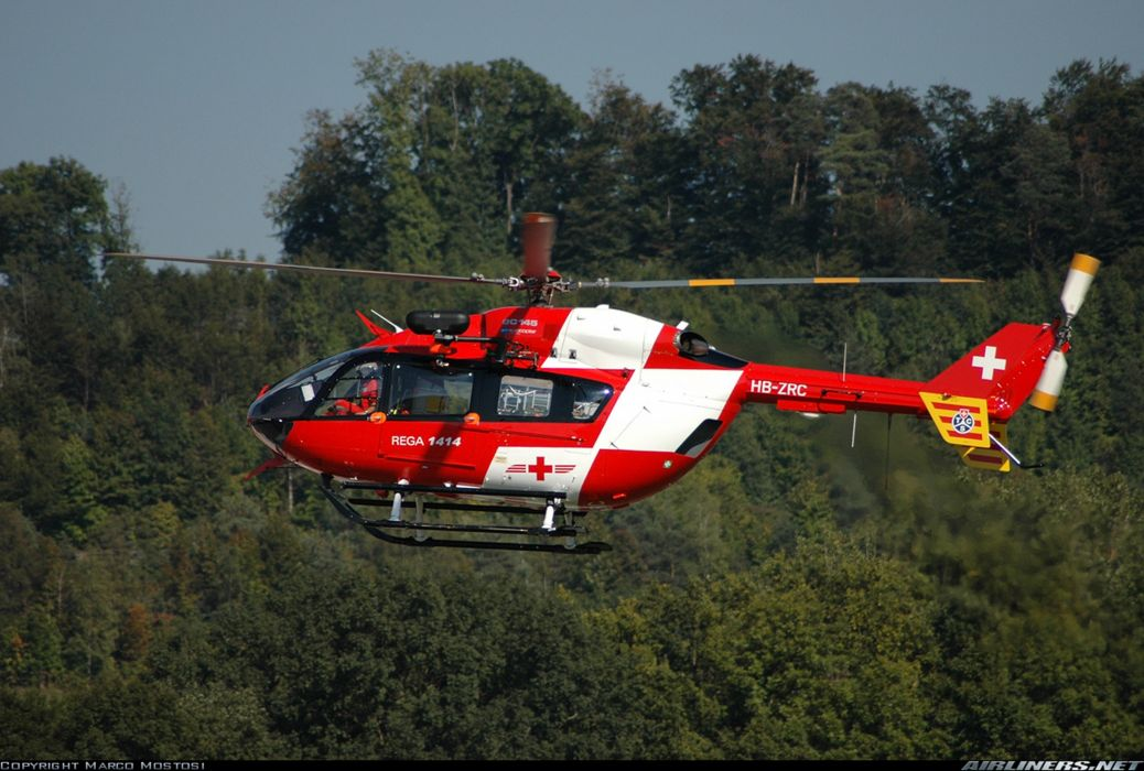 helicopter aircraft rescue Switzerland eurocopter ec-145 wallpaper