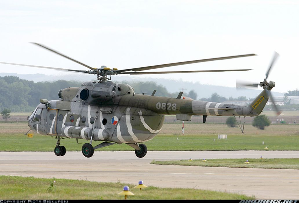 helicopter aircraft transport Czech-Republic military army wallpaper