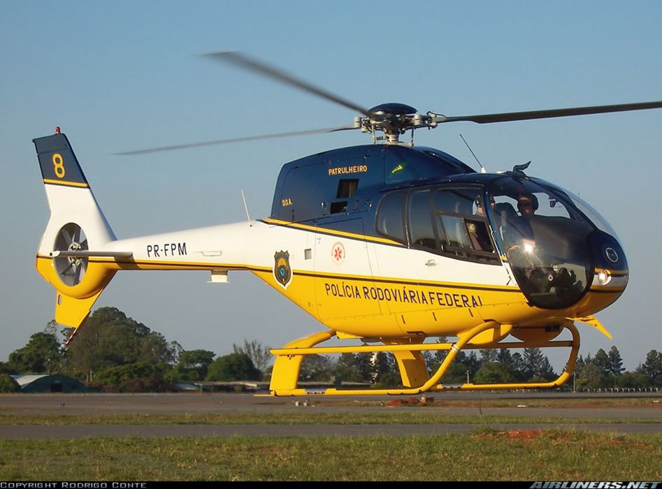 helicopter aircraft federal police highway Brazil wallpaper