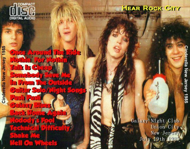 CINDERELLA hair metal heavy poster wallpaper