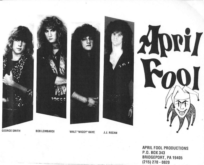 APRIL FOOL hair metal heavy poster wallpaper