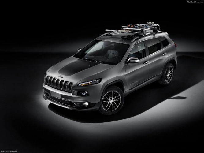 Jeep Cherokee EU-Version 2014 car suv 4x4 off-road 4000x3000 wallpaper