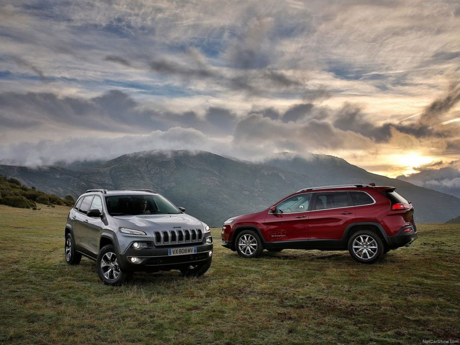 Jeep Cherokee EU-Version 2014 car suv 4x4 off-road 4000x3000 wallpaper