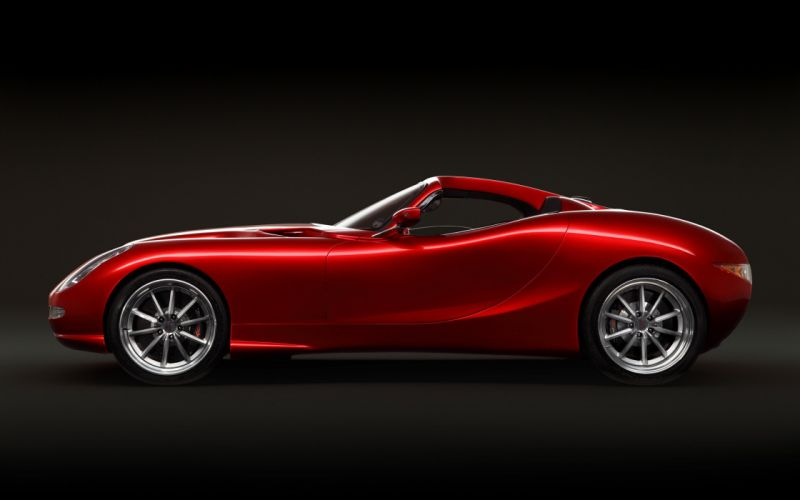 2014 Trident Iceni Convertible Supercar Car Sport-GT red 4000x2500 wallpaper