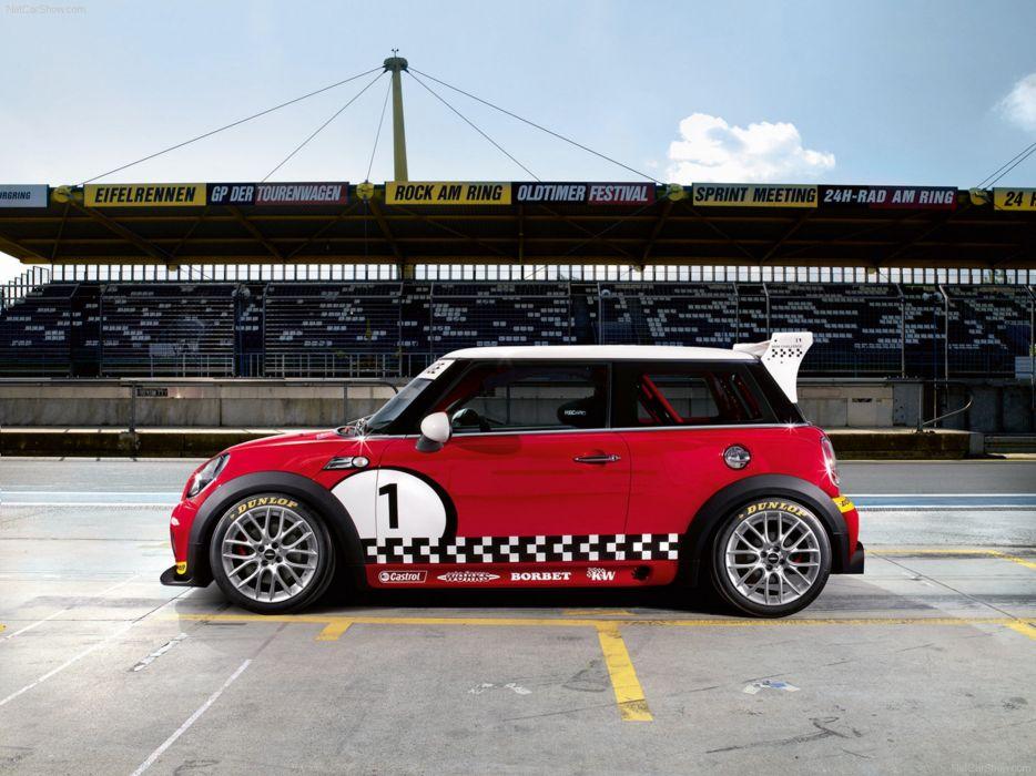 Mini John Cooper Works Challenge 2008 Race Car Racing 4000x3000 wallpaper