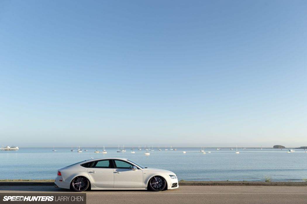 Speed hunters accuair audi-s7 vossen car tunning supercar Germany 4000x2667 wallpaper