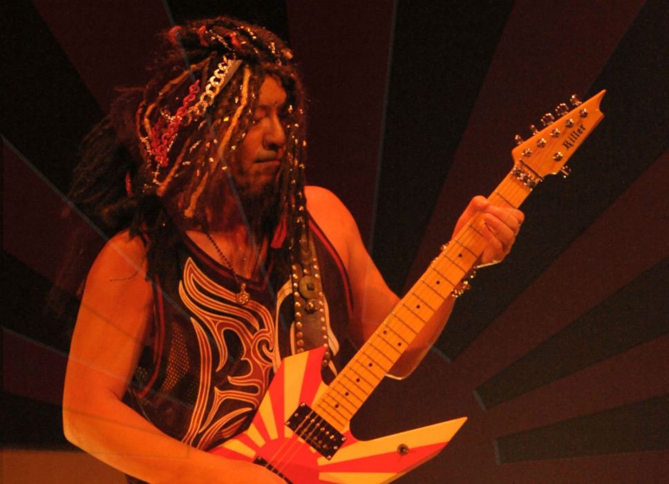 LOUDNESS japanese hairy metal heavy concert guitar wallpaper