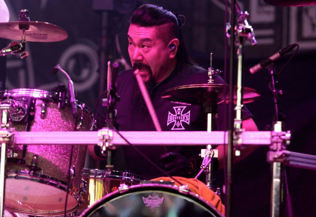 LOUDNESS japanese hairy metal heavy concert drums wallpaper