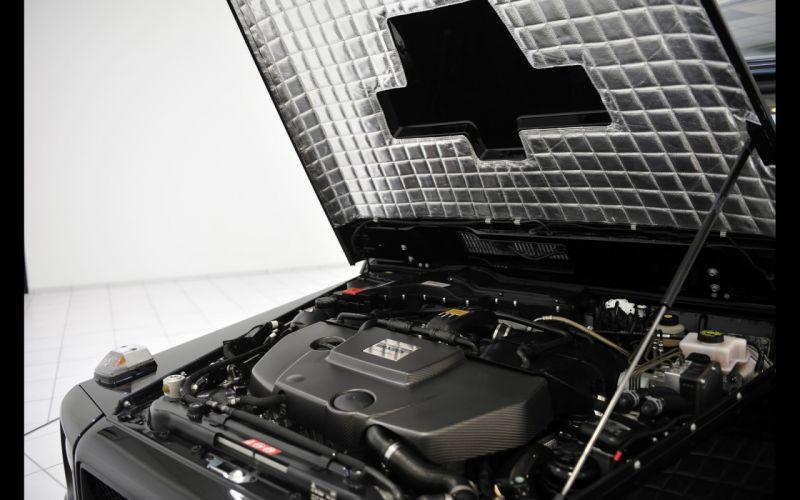 2014 Brabus Mercedes-Benz 800-G Tunning 4x4 Off-Road Black 4000x2500 engine wallpaper