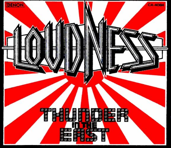 LOUDNESS japanese hairy metal heavy poster wallpaper