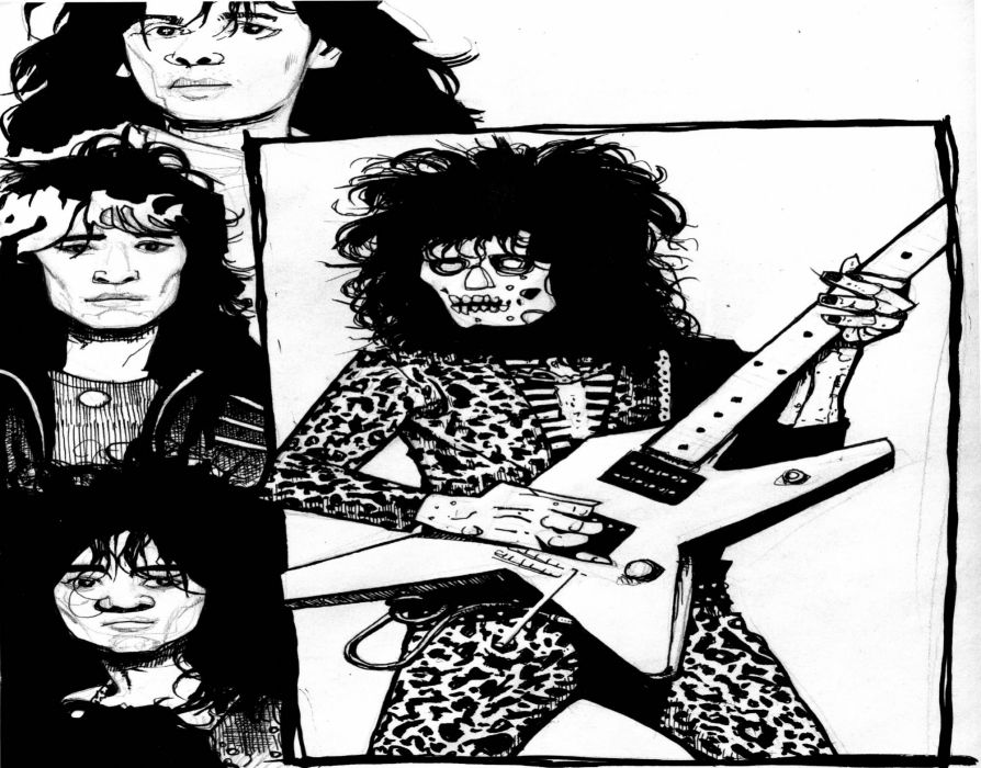 LOUDNESS japanese hairy metal heavy guitar wallpaper