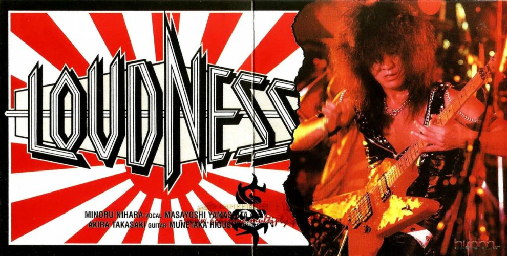 LOUDNESS japanese hairy metal heavy poster guitar wallpaper