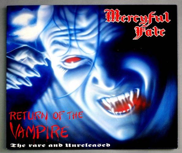 MERCYFUL FATE King Diamond heavy metal dark poster vampire horror wallpaper