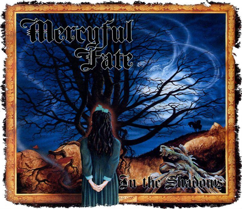 MERCYFUL FATE King Diamond heavy metal dark poster fantasy wallpaper