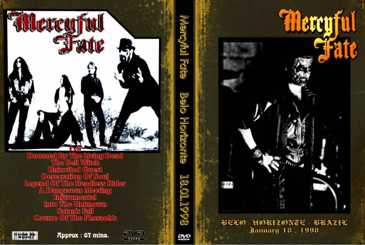MERCYFUL FATE King Diamond heavy metal dark poster wallpaper