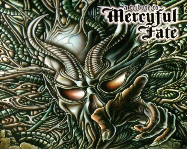 MERCYFUL FATE King Diamond heavy metal dark poster skull horror satanic wallpaper