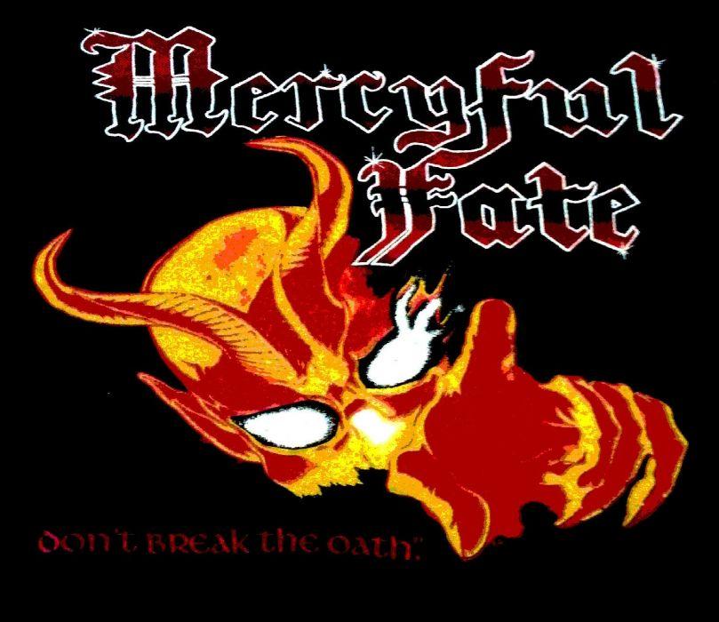 MERCYFUL FATE King Diamond heavy metal dark poster demon wallpaper