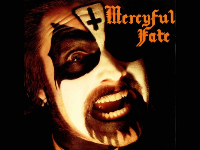 MERCYFUL FATE King Diamond heavy metal dark poster satanic wallpaper