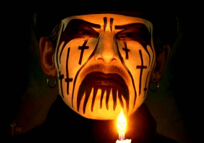 MERCYFUL FATE King Diamond heavy metal dark occult satanic wallpaper