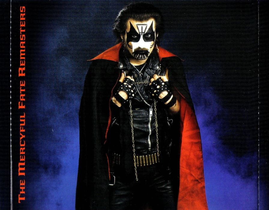 Mercyful Fate King Diamond Heavy Metal Dark Satanic Occult Poster