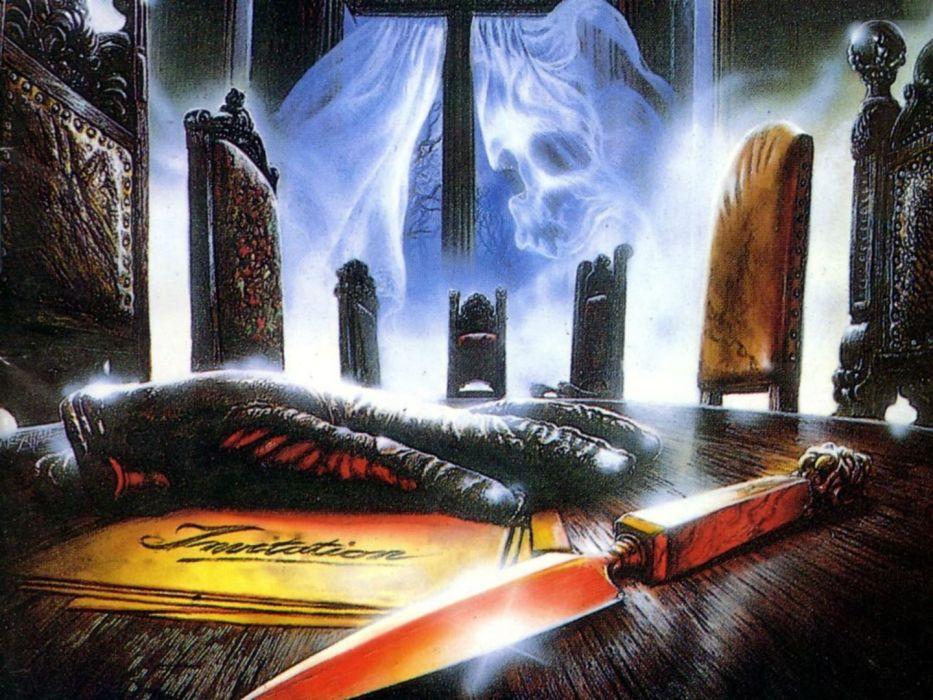 MERCYFUL FATE King Diamond heavy metal dark satanic occult fantasy wallpaper