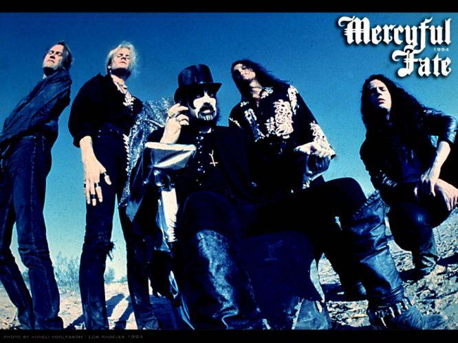 MERCYFUL FATE King Diamond heavy metal dark satanic occult poster wallpaper
