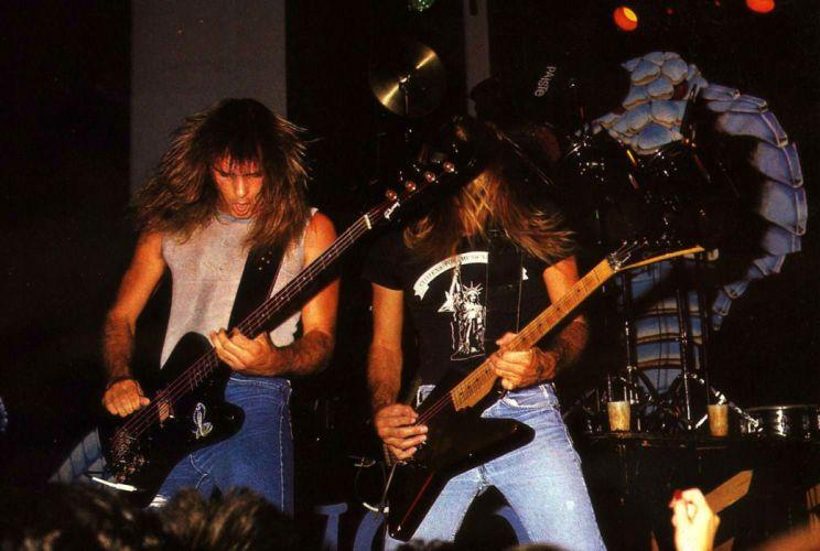 LIZZY BORDEN hair metal heavy concert guitar wallpaper