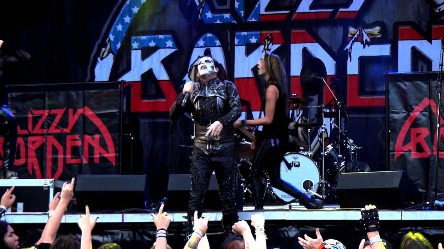 LIZZY BORDEN hair metal heavy poster concert singer wallpaper