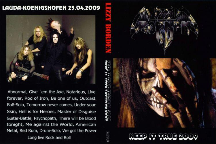 LIZZY BORDEN hair metal heavy poster wallpaper