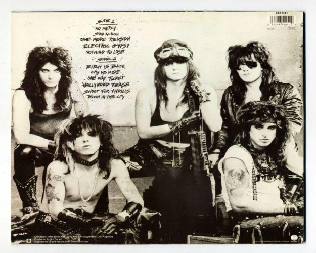 LA-GUNS hair metal heavy guns poster wallpaper