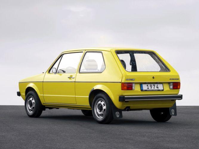 1974 Volkswagen Golf mark1 car Germany 4000x3000 wallpaper