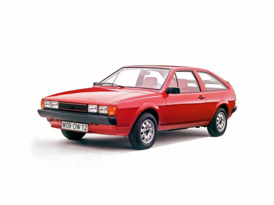 1981 Volkswagen Scirocco-GT car Germany 4000x3000 wallpaper