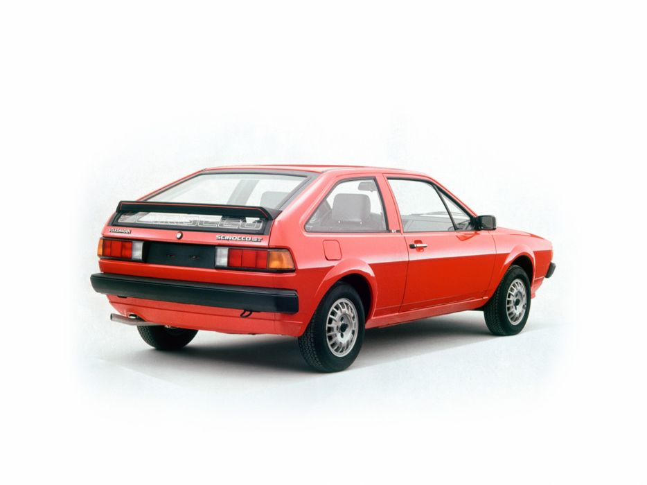 1981 Volkswagen Scirocco-GT car Germany 4000x3000 wallpaper