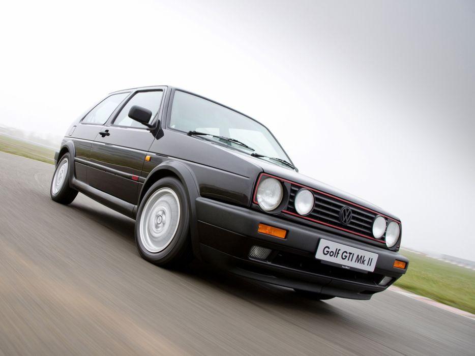 1989 Volkswagen Golf GTI mark2 car Germany 4000x3000 wallpaper