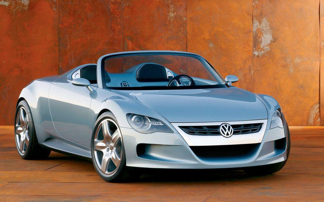 Marvelous 2003 Volkswagen Concept R Car Convertible Sport Germany 4000x2500 Wallpaper