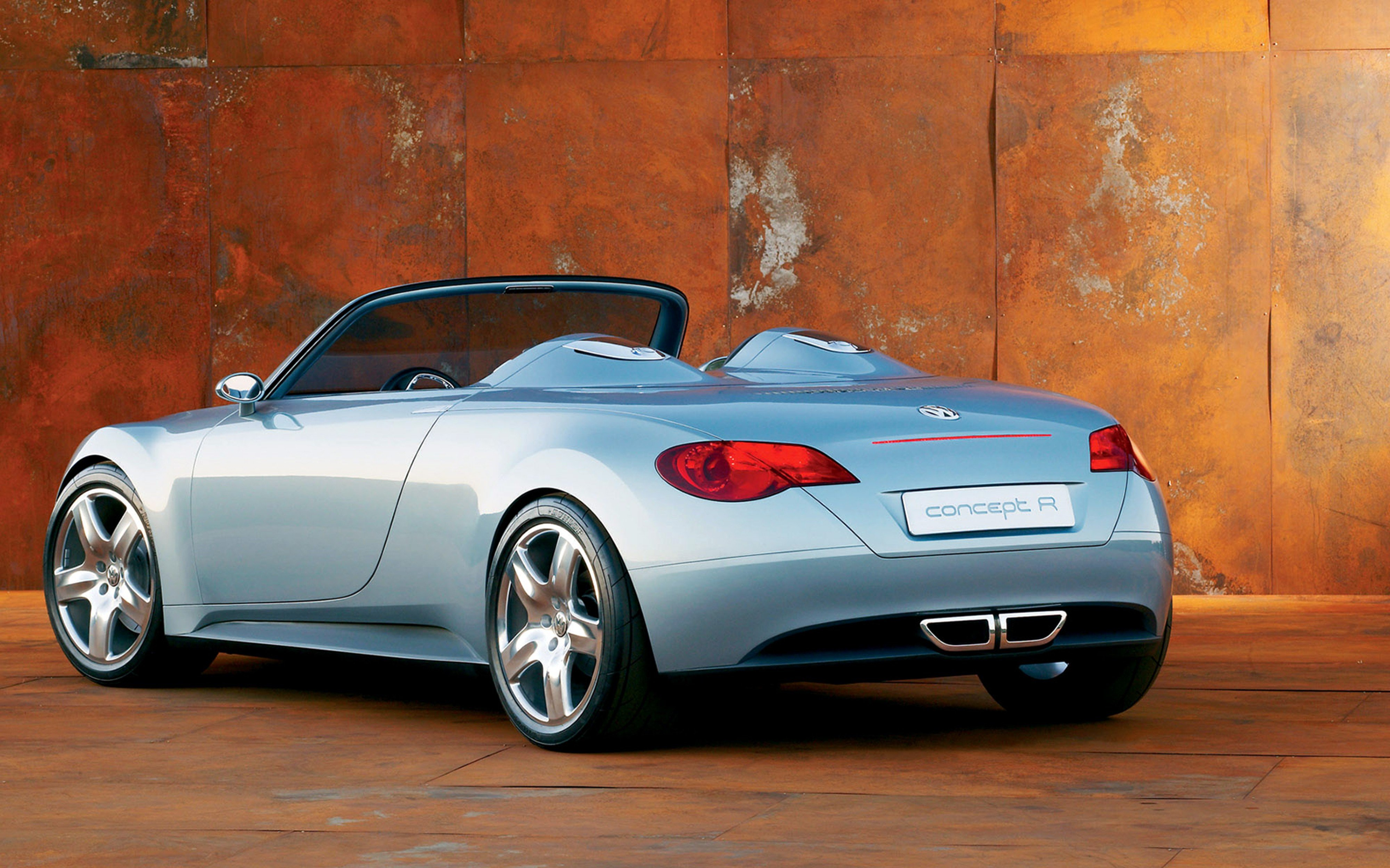 2003 Volkswagen Concept R Car Convertible Sport Germany 4000x2500