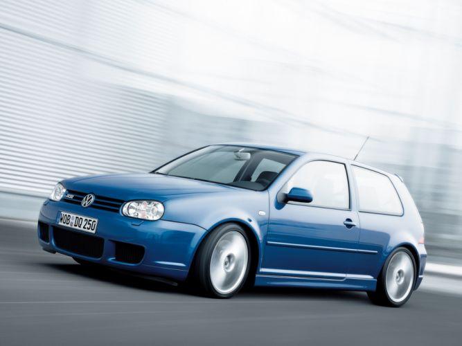 2002 Volkswagen Golf R32 car Germany blue 4000x3000 wallpaper
