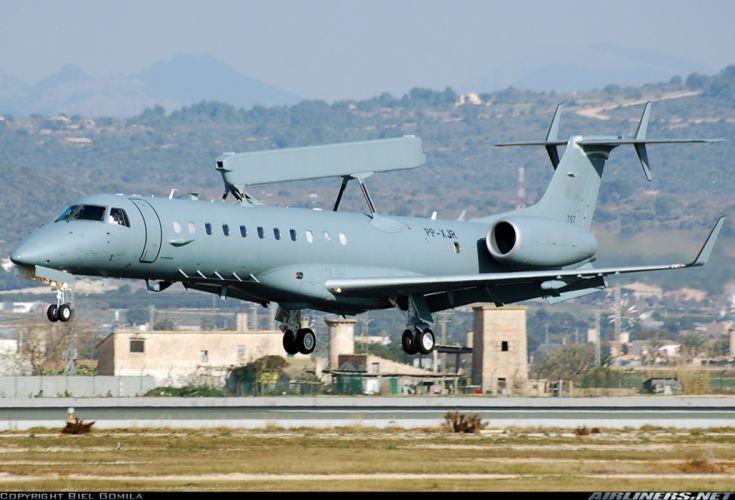 aircraft military embraer surveillance radar wallpaper