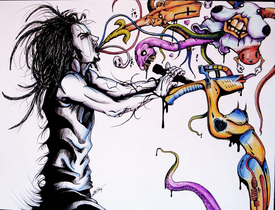 Korn Nu Metal Metal Heavy Rock Hard Dark Psychedelic Singer