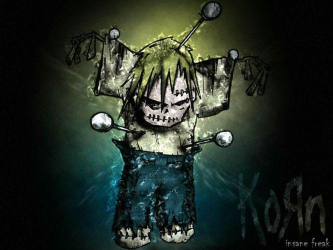 KORN nu-metal metal heavy rock hard emo dark zombie wallpaper
