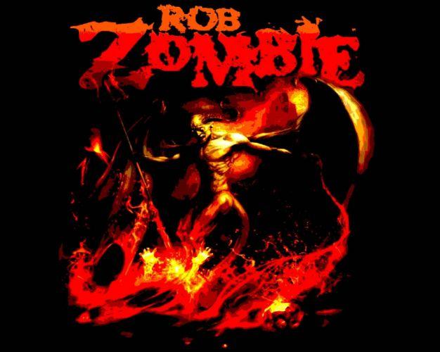 ROB-ZOMBIE industrial metal heavy white-zombie rob zombie white (5) wallpaper