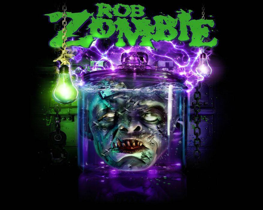 ROB-ZOMBIE industrial metal heavy white-zombie rob zombie white (6) wallpaper