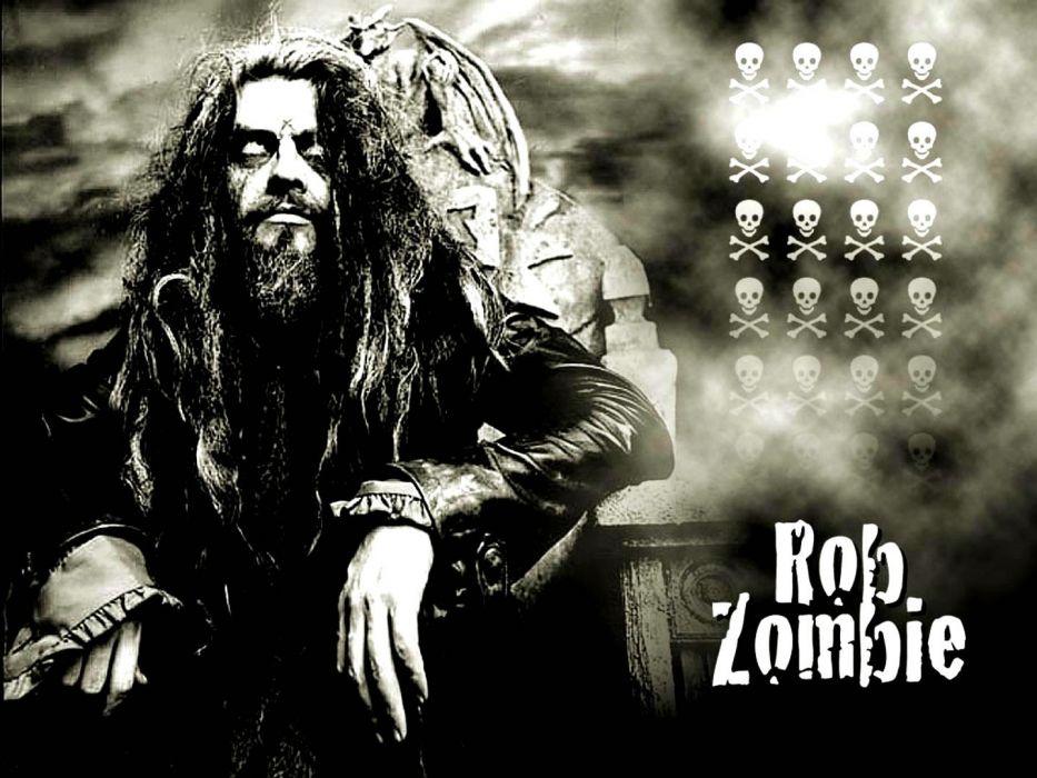 ROB-ZOMBIE industrial metal heavy white-zombie rob zombie white (4) wallpaper