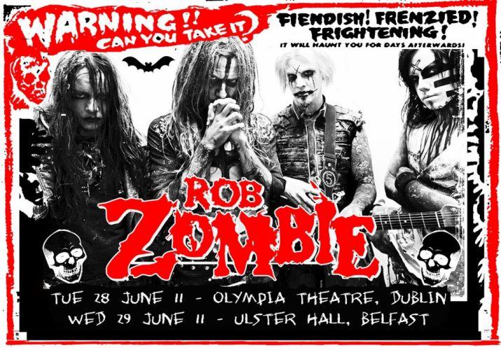 ROB-ZOMBIE industrial metal heavy white-zombie rob zombie white (20) wallpaper