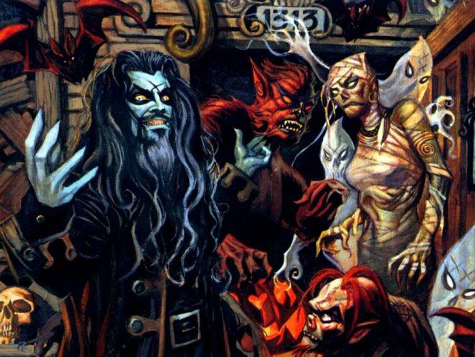 ROB-ZOMBIE industrial metal heavy white-zombie rob zombie white (39) wallpaper