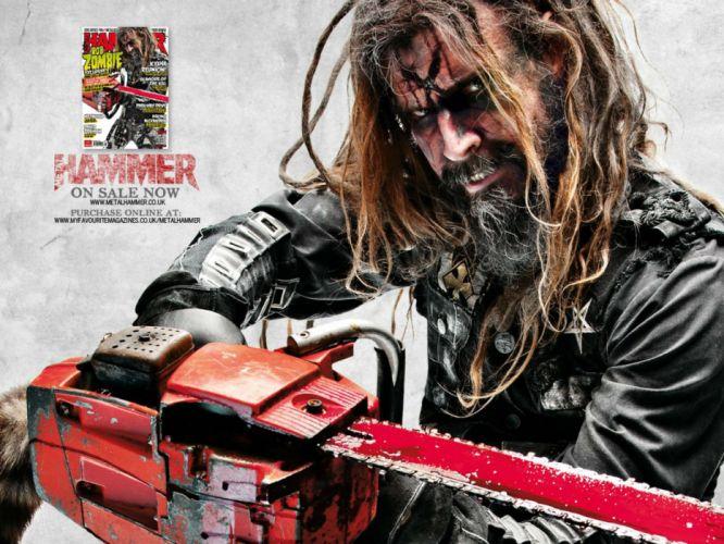 ROB-ZOMBIE industrial metal heavy white-zombie rob zombie white (41) wallpaper