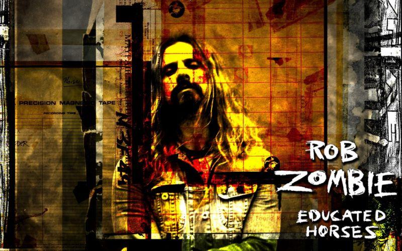ROB-ZOMBIE industrial metal heavy white-zombie rob zombie white (48) wallpaper