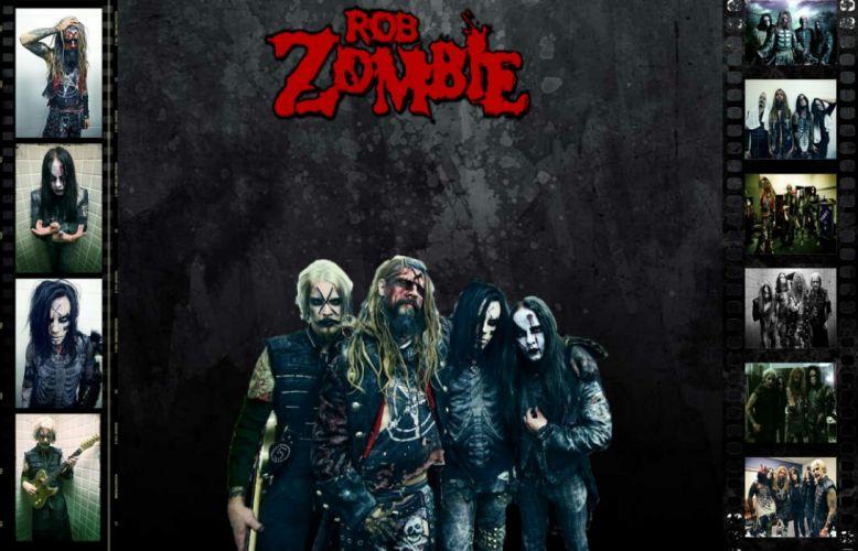 ROB-ZOMBIE industrial metal heavy white-zombie rob zombie white (50) wallpaper