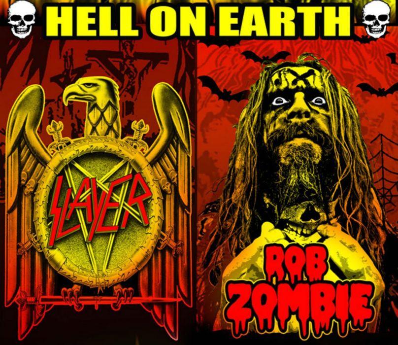 ROB-ZOMBIE industrial metal heavy white-zombie rob zombie white slayer wallpaper